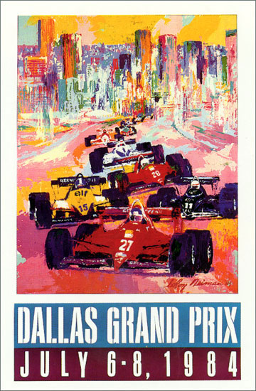 Dallas Grand Prix LeRoy Neiman Originals 702-222-2221