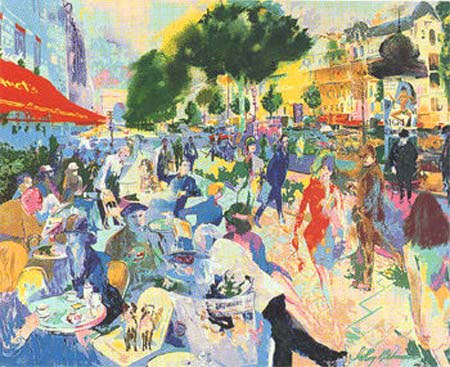 Fouquet's LeRoy Neiman Originals 702-222-2221