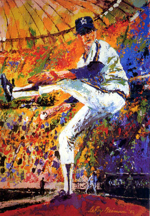 Gaylord Perry LeRoy Neiman Originals 702-222-2221