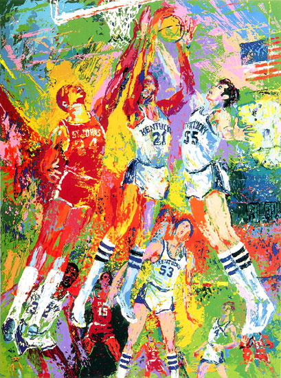 Kentucky Wildcats LeRoy Neiman Originals 702-222-2221