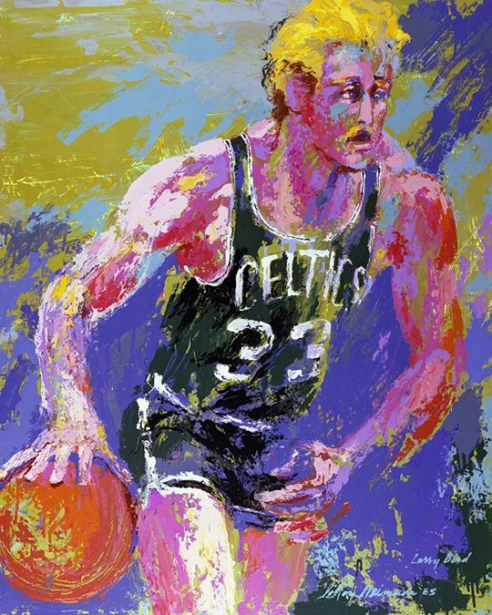 Larry Bird Celtics #33 LeRoy Neiman Originals 702-222-2221