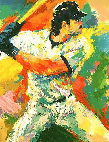 Mike Piazza LeRoy Neiman Originals 702-222-2221
