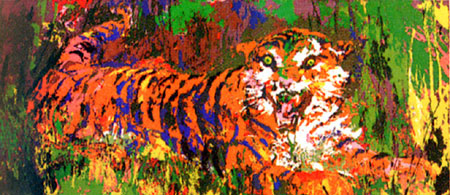 Young Tiger LeRoy Neiman Originals 702-222-2221