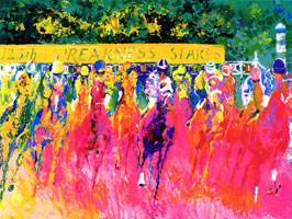 LeRoy Neiman Originals Call 702-222-2221 125th  Preakness Stakes