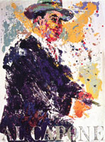 LeRoy Neiman Originals Call 702-222-2221 Al Capone